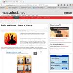Mac Soluciones: Bailar sevillanas… desde el iPhone