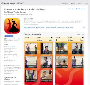 Bailar Sevillanas en iTunes