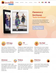 """Web oficial """"Bailar Sevillanas"""" - Flamenco y Sevillanas"""