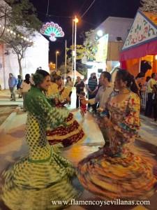 """""""Bailar Sevillanas"""" en San Lúcar de Barrameda, Feria de la Manzanilla"""