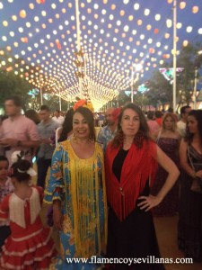 """Bailar Sevillanas"" en la feria de San Lúcar"