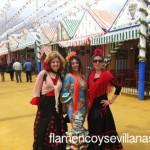 bailar sevillanas en la feria de abril
