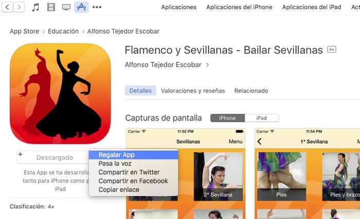 Bailar Sevillanas