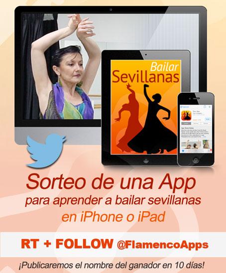 App gratis para aprender a bailar sevillanas en iPhone y iPad